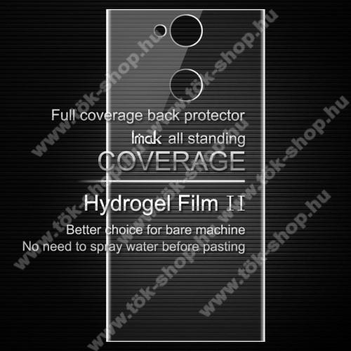 IMAK HD Hydrogel Protector hátlapvédő fólia - 1 db, 0,15 mm, A TELJES HÁTLAPOT VÉDI! - SONY Xperia XA2 - GYÁRI