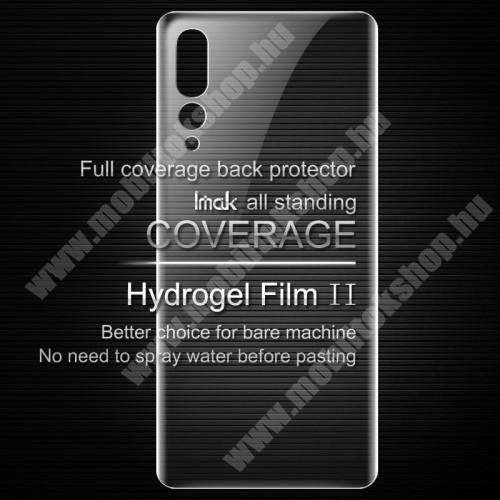 IMAK HD Hydrogel Protector hátlapvédő fólia - 1 db, 0,15 mm, A TELJES HÁTLAPOT VÉDI! - HUAWEI P20 Pro (2018) - GYÁRI