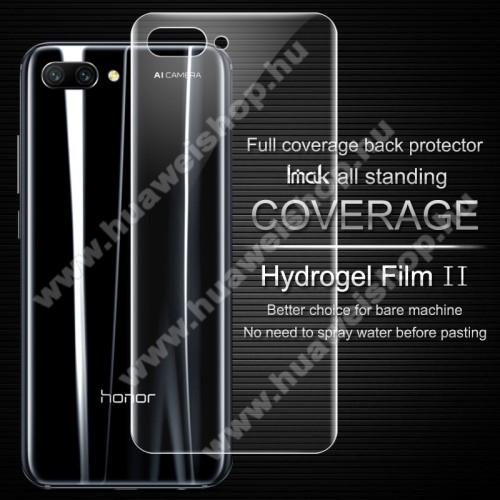 IMAK HD Hydrogel Protector hátlapvédő fólia - 1 db, 0,15 mm, A TELJES HÁTLAPOT VÉDI! - HUAWEI Honor 10 - GYÁRI