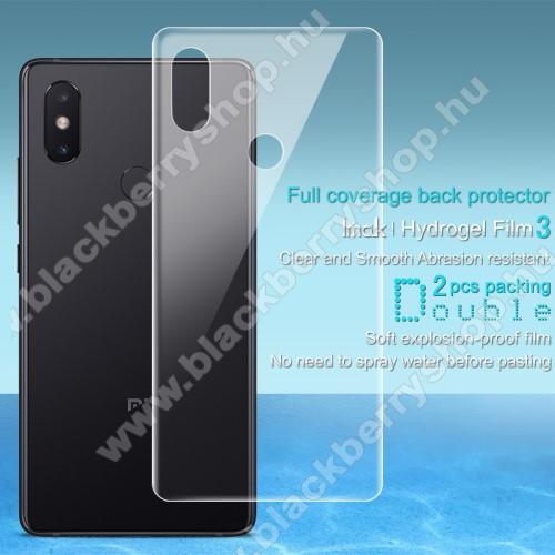 IMAK HD Hydrogel Protector hátlapvédő fólia - 2 db, 0,15 mm, A TELJES HÁTLAPOT VÉDI! - Xiaomi Mi 8 SE - GYÁRI