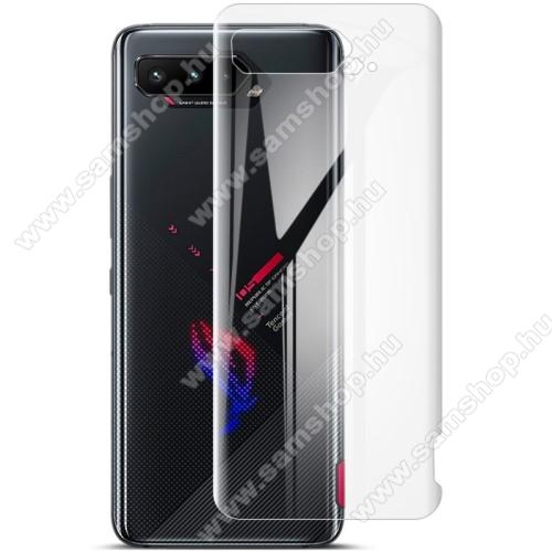 IMAK HD Hydrogel Protector hátlapvédő fólia - 2db, 0,15 mm, A TELJES HÁTLAPOT VÉDI! - ASUS ROG Phone 5 / ROG Phone 5 Pro / ROG Phone 5 Ultimate - GYÁRI