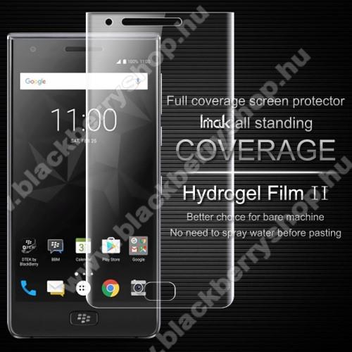 IMAK HD Hydrogel Protector II képernyővédő fólia - 0,15 mm, A TELJES KIJELZŐT VÉDI! - Blackberry Motion - GYÁRI