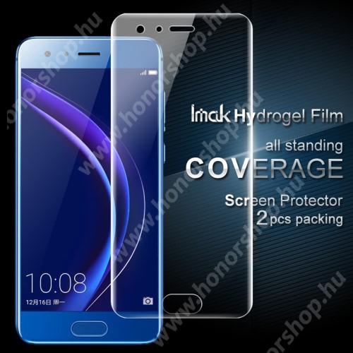 HUAWEI Honor 9 IMAK HD Hydrogel Protector képernyővédő fólia - 2db, 0,15 mm, A TELJES KIJELZŐT VÉDI! - Huawei Honor 9 / HUAWEI Honor 9 Premium - GYÁRI