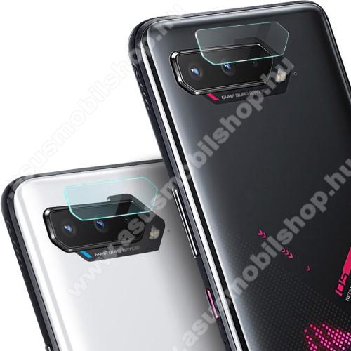 IMAK kamera lencsevédő üvegfólia - 2db, 9H, Arc Edges - ASUS ROG Phone 5 / ROG Phone 5 Pro / ROG Phone 5 Ultimate - GYÁRI