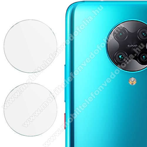 IMAK kameralencsevédő üvegfólia - 2db, 9H, Arc Edges - Xiaomi Redmi K30 Pro / Xiaomi Redmi K30 Pro Zoom / Xiaomi Poco F2 Pro - GYÁRI