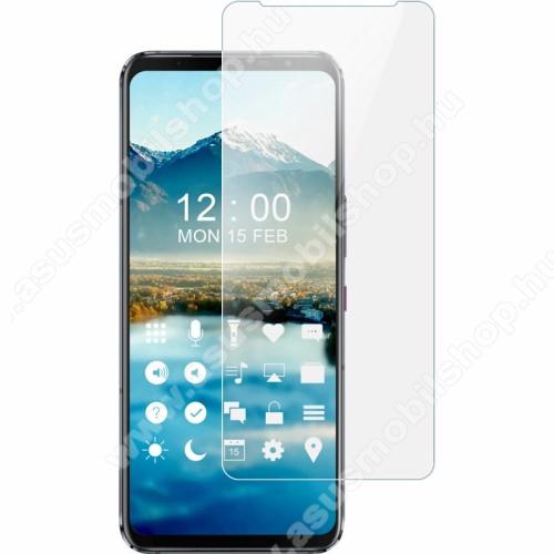 IMAK képernyővédő fólia - Explosion-proof Soft, TPU, A képernyő sík részét védi - ASUS ROG Phone 5 / ROG Phone 5 Pro / ROG Phone 5 Ultimate - GYÁRI