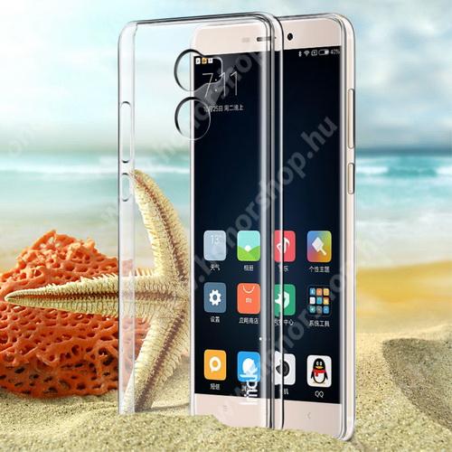 IMAK műanyag védő tok / hátlap - VÉKONY! 1mm - ÁTLÁTSZÓ - Xiaomi Redmi 4 - GYÁRI