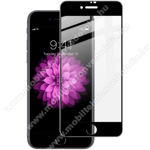 APPLE iPhone 7IMAK Pro+ előlap védő karcálló edzett üveg - FEKETE - 9H, A TELJES KIJELZŐT VÉDI! - APPLE iPhone SE (2020) / APPLE iPhone 7 / APPLE iPhone 8 / APPLE iPhone 6 / APPLE iPhone 6S - GYÁRI