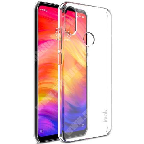 IMAK PRO II műanyag védő tok / hátlap - VÉKONY! 1mm, képernyővédő fóliával! - ÁTLÁTSZÓ - Xiaomi Redmi 7 / Xiaomi Redmi Y3 - GYÁRI