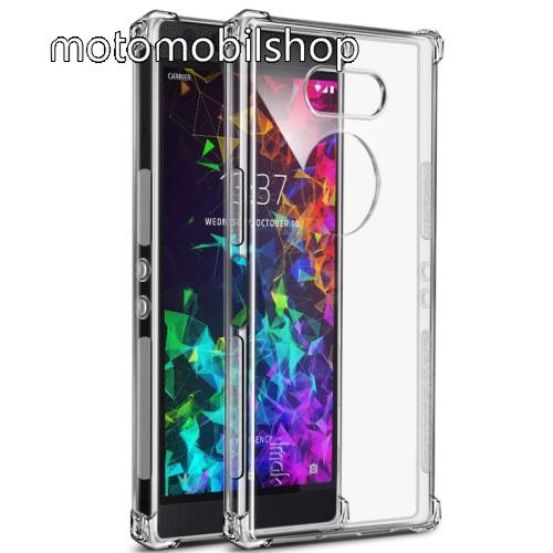 IMAK Silky szilikon védő tok / hátlap - ÁTLÁTSZÓ - ERŐS VÉDELEM! - képernyővédő fóliával! - Razer Phone 2 - GYÁRI