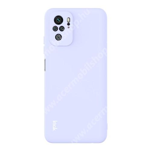 IMAK UC-2 szilikon védő tok / hátlap - LILA - Xiaomi Redmi Note 10 / Redmi Note 10S - GYÁRI