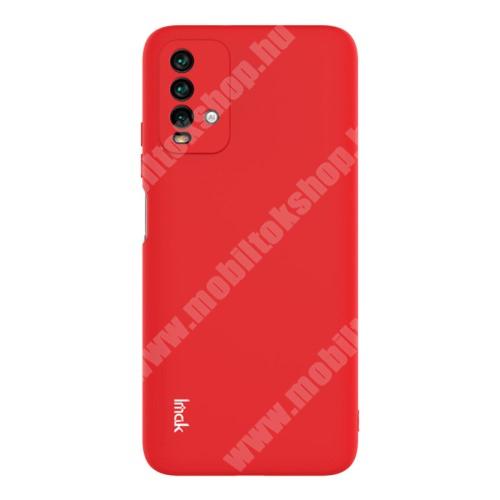 IMAK UC-2 szilikon védő tok / hátlap - PIROS - Xiaomi Redmi 9T / Redmi 9 Power - GYÁRI