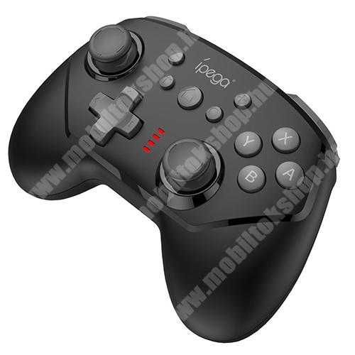 MOTOROLA Moto G4 IPEGA 9162B UNIVERZÁLIS Kontroller / Joystick - Bluetooth csatlakozás, Nintendo Switch-el kompatibilis, FPS játékokhoz, gamepad, beépített 380mAh akkumulátor, 8 óra játékidő - FEKETE - GYÁRI