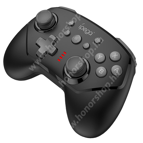 HUAWEI Honor 3 IPEGA 9162B UNIVERZÁLIS Kontroller / Joystick - Bluetooth csatlakozás, Nintendo Switch-el kompatibilis, FPS játékokhoz, gamepad, beépített 380mAh akkumulátor, 8 óra játékidő - FEKETE - GYÁRI