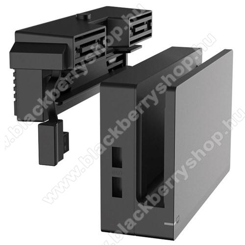 IPEGA asztali tartó / hűtőventilátor Nintendo Switch-hez - 2 ventilátorral, 184 x  42 x 62mm - GYÁRI