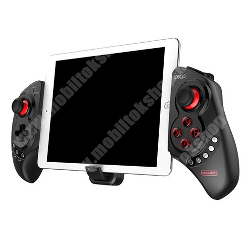 """ZTE Blade A520 IPEGA PG-9023S UNIVERZÁLIS Kontroller / Joystick - Bluetooth 4.0 csatlakozás, FPS játékokhoz, gamepad, multimédia gombok, beépített 300mAh akkumulátor, 15 óra használati idő, 5-10""""-os méretig ajánlott - FEKETE - PG-9023S - GYÁRI"""