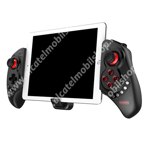 """ALCATEL OT-208 IPEGA PG-9023S UNIVERZÁLIS Kontroller / Joystick - Bluetooth 4.0 csatlakozás, FPS játékokhoz, gamepad, multimédia gombok, beépített 300mAh akkumulátor, 15 óra használati idő, 5-10""""-os méretig ajánlott - FEKETE - PG-9023S - GYÁRI"""