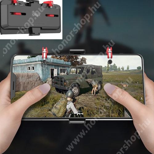HUAWEI Honor V40 5G IPEGA UNIVERZÁLIS Kontroller / Joystick - ravasz FPS játékokhoz, gamepad, 67-87mm-ig állítható bölcső, kompatibilis telefon vastagság 7,30-8,80 mm - FEKETE - GYÁRI