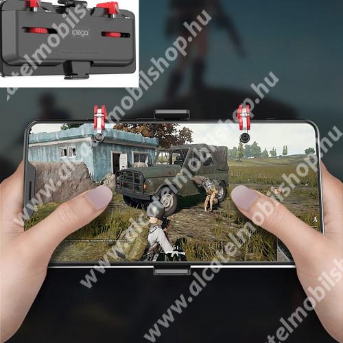 ALCATEL OT-208 IPEGA UNIVERZÁLIS Kontroller / Joystick - ravasz FPS játékokhoz, gamepad, 67-87mm-ig állítható bölcső, kompatibilis telefon vastagság 7,30-8,80 mm - FEKETE - GYÁRI