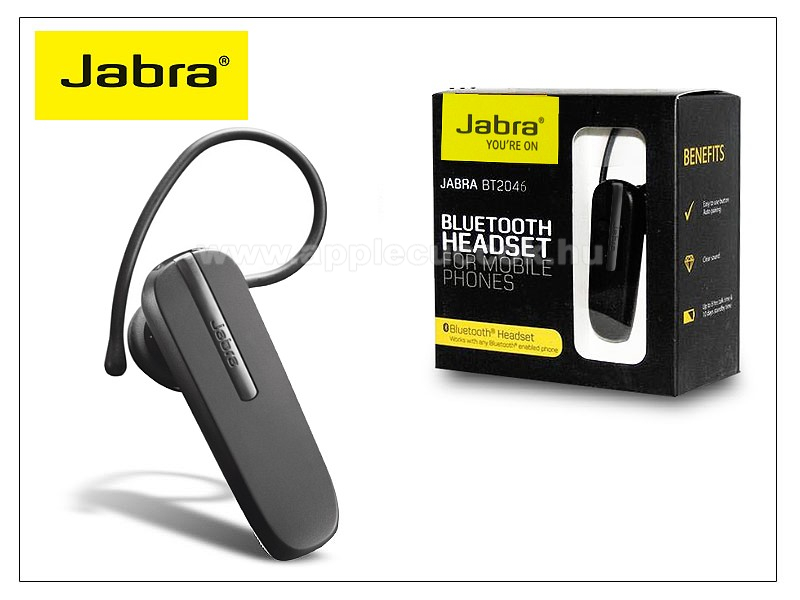 Jabra BT-2046 Bluetooth headset v2.1 MultiConnection (egyszerre 2 k�l�nb�z? telefonnal haszn�lhat�!)