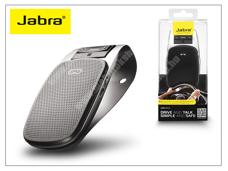 ALCATEL Flash (2017) Jabra Drive Bluetooth autós kihangosító - MultiConnection (egyszerre 2 különböző telefonnal használható!)