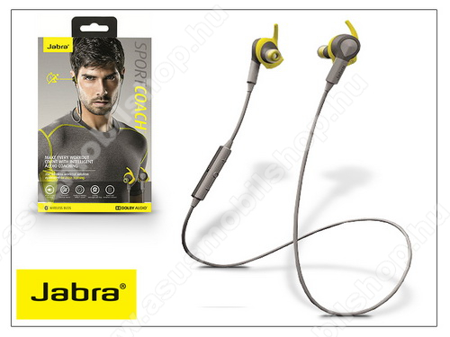 ASUS Fonepad 7 (2015) FE375CL Jabra Sport Coach Bluetooth sztereó headset v4.0 - MultiPoint - grey/yellow