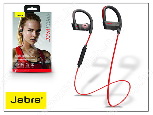 ASUS Fonepad 7 (2015) FE375CL Jabra Sport Pace Bluetooth sztereó headset v4.0 - MultiPoint - black/red