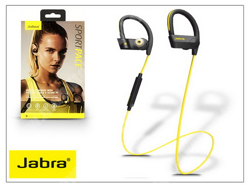 Meizu C9 Jabra Sport Pace Bluetooth sztereó headset v4.0 - MultiPoint - black/yellow