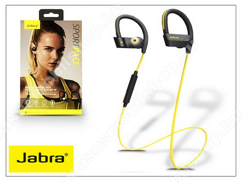 ASUS Fonepad 7 (2015) FE375CL Jabra Sport Pace Bluetooth sztereó headset v4.0 - MultiPoint - black/yellow