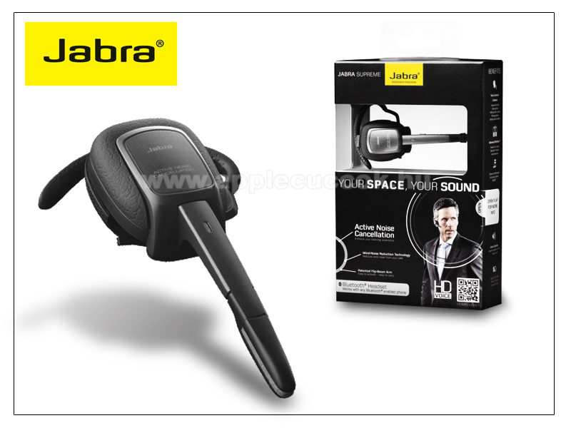 Jabra Supreme Bluetooth headset v3.0 + EDR MultiConnection (egyszerre 2 k�l�nb�z? telefonnal haszn�lhat�!)