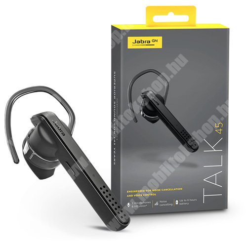 Elephone P9 Water Jabra Talk 45 Bluetooth headset - v4.0, multipoint (egyszerre 2 különböző telefonnal használható!) - FEKETE / SZÜRKE - GYÁRI