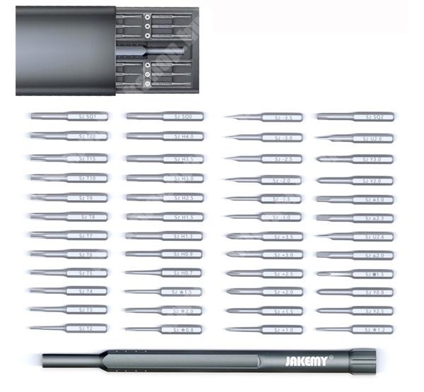 PRESTIGIO MultiPad 8.0 PRO DUO JAKEMY JM-8169 49 in 1 csavarhúzó készlet / mágneses bitfej készlet