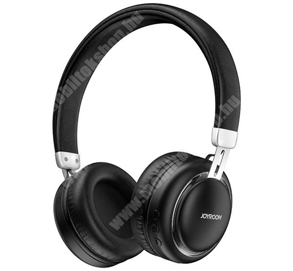 LG G4c (H525N) JOYROOM BLUETOOTH SZTEREO  fejhallgató - v5.0, sztereo, mikrofon, mélyhang kiemelő - FEKETE - JR-HL1_B - GYÁRI