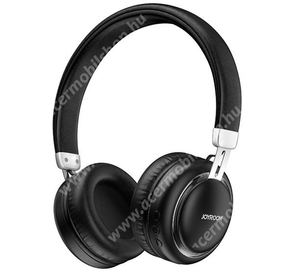 ACER Iconia Tab A3-A20FHD JOYROOM BLUETOOTH SZTEREO  fejhallgató - v5.0, sztereo, mikrofon, mélyhang kiemelő - FEKETE - JR-HL1_B - GYÁRI