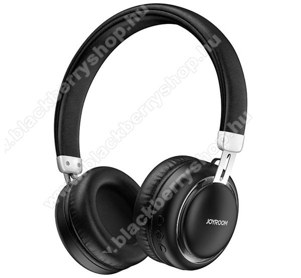 JOYROOM BLUETOOTH SZTEREO  fejhallgató - v5.0, sztereo, mikrofon, mélyhang kiemelő - FEKETE - JR-HL1_B - GYÁRI
