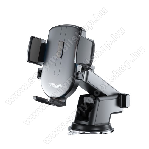 SONY Xperia XA2JOYROOM univerzális autós / gépkocsi tartó - tapadókorongos, szélvédőre vagy műszerfalra rögzíthető, 117 x 155 x 109mm, 4-6.7