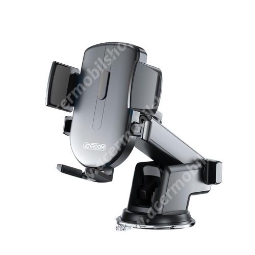 """ACER Liquid X1 JOYROOM univerzális autós / gépkocsi tartó - tapadókorongos, szélvédőre vagy műszerfalra rögzíthető, 117 x 155 x 109mm, 4-6.7""""-os készülékekhez - FEKETE - JR-OK3 - GYÁRI"""