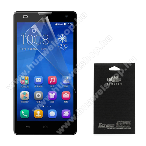 K�perny?v�d? f�lia - Anti-glare - MATT! - 1db, t�rl?kend?vel - HUAWEI Ascend G750 (Honor 3X)