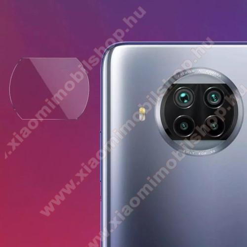 Kamera lencsevédő karcálló edzett üveg - 1db, 9H, 0,33mm, Arc Edge - Xiaomi Mi 10T Lite 5G