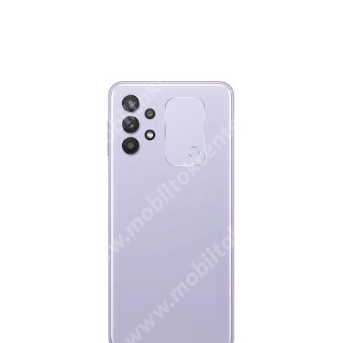 Kamera lencsevédő karcálló edzett üveg - 1db, 9H, 0,33mm, Arc Edge - SAMSUNG Galaxy A32 5G (SM-A326B)