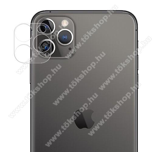 Kamera lencsevédő üvegfólia - ÁTLÁTSZÓ - 1db, 9H - APPLE iPhone 12 Pro