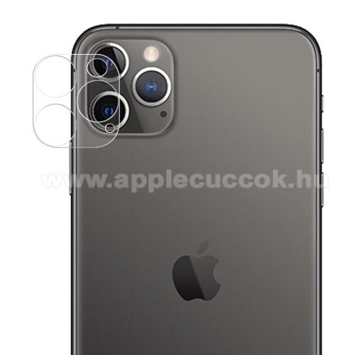 APPLE iPhone 12 ProKamera lencsevédő üvegfólia - ÁTLÁTSZÓ - 1db, 9H - APPLE iPhone 12 Pro