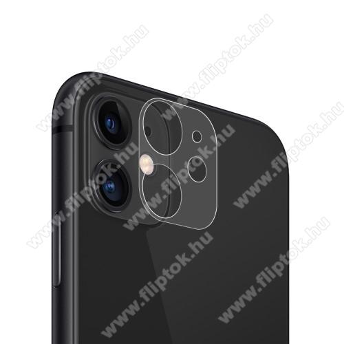 Kamera lencsevédő üvegfólia - ÁTLÁTSZÓ - 1db, 9H - APPLE iPhone 12 / APPLE iPhone 12 mini
