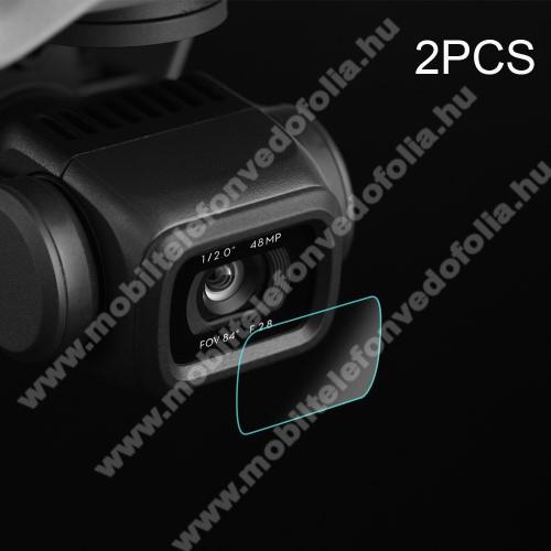 Kameralencse karcálló edzett üveg - 2db, 0,3 mm vékony, 9H - DJI Mavic Air 2