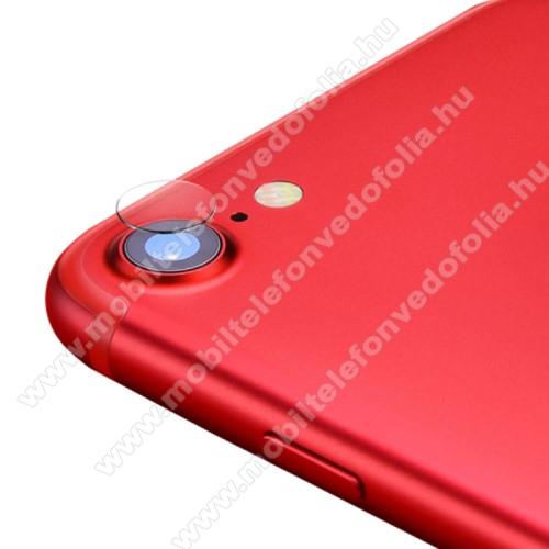 APPLE iPhone 7Kameralencsevédő karcálló edzett üveg - 1db, 9H, 0,33mm, Arc Edge - APPLE iPhone SE (2020) / APPLE iPhone 7 / APPLE iPhone 8 / APPLE iPhone 6 / APPLE iPhone 6S