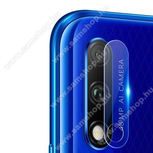 Kameravédő üvegfólia, 0,3mm, Arc Edge, 1db - Honor 9X (Global) / Honor 9X Pro / HONOR 9X (China)