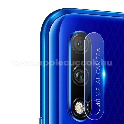 Kameravédő üvegfólia, 0,3mm, Arc Edge, 1db - Honor 9X (Global) / Honor 9X Pro / HONOR 9X (China)