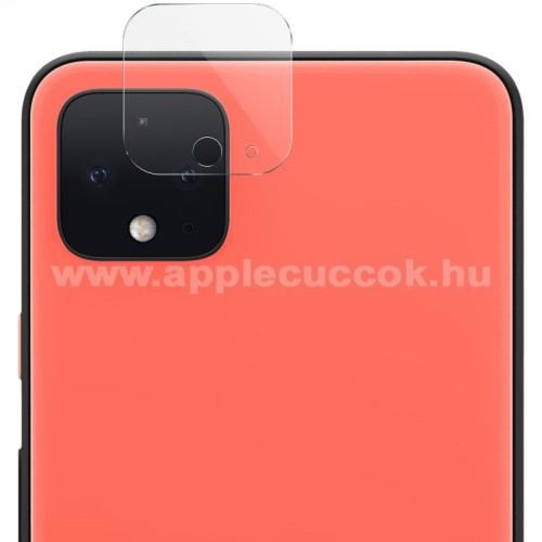 Kameravédő üvegfólia, 0,3mm, Arc Edge, 1db - Google Pixel 4 XL / Google Pixel 4