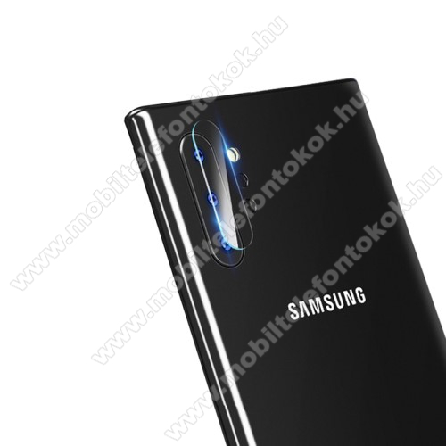 Kameravédő üvegfólia, 0,3mm, Arc Edge - SAMSUNG Galaxy Note10 Plus (SM-N975F) / SAMSUNG Galaxy Note10 Plus 5G (SM-N976F)