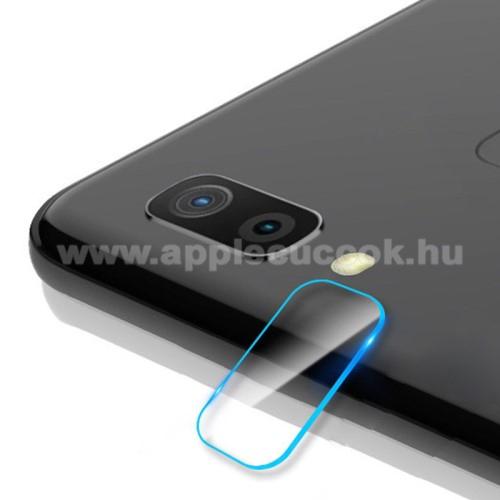 Kameravédő üvegfólia, 0,3mm, Arc Edge - SAMSUNG SM-M205F Galaxy M20
